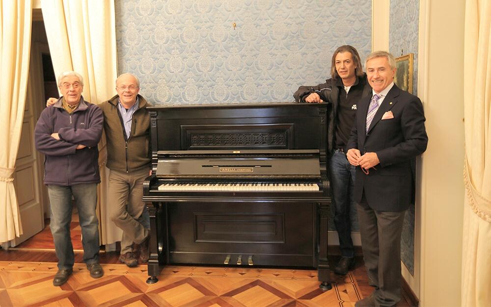 Restauro Pianoforte Prefettura